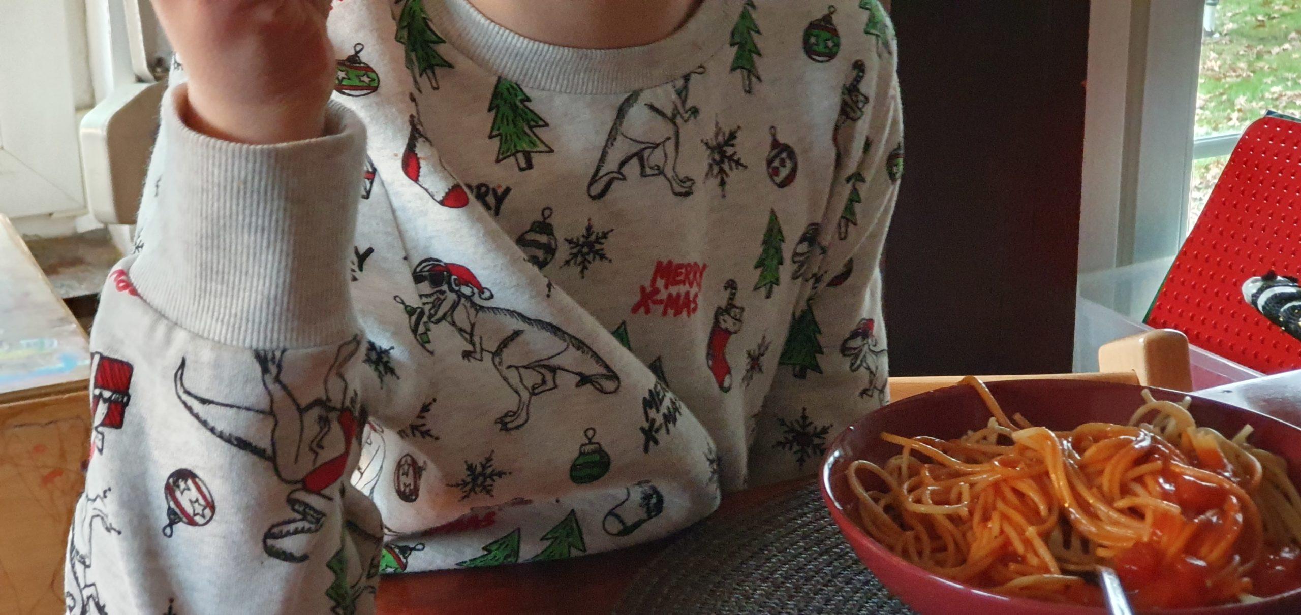 Spaghetti? Gehen wohl bei jedem Kind.